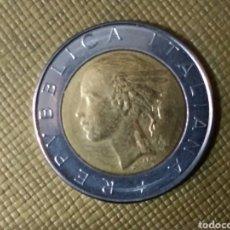 Monedas antiguas de Europa: 500 LIRAS 1982 ITALIA. Lote 167456176