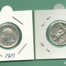 Monedas antiguas de Europa: PLATA-ITALIA. 5 LIRE 1929. 5 GRAMOS DE LEY 0,835. V.EMANUELE III. Lote 179005731
