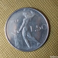 Monedas antiguas de Europa: 50 LIRAS 1978 ITALIA. Lote 167535102