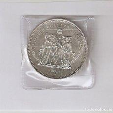 Monedas antiguas de Europa: MONEDA PLATA FRANCIA 50 FRANCOS 1977. Lote 167643468