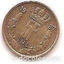 Monedas antiguas de Europa: LUXEMBURGO,5 FRANCAS 1987.. Lote 167974048
