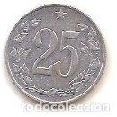 Monedas antiguas de Europa: CHECOSLOVAQUIA,25 HELLER 1962.. Lote 167978828