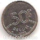 Monedas antiguas de Europa: BELGICA,BELGIE,50 FRANCOS 1992.. Lote 167974632