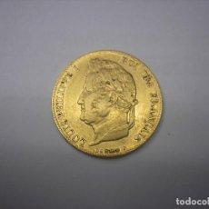 Monedas antiguas de Europa: FRANCIA, 20 FRANCOS DE ORO DE 1839. REY LUIS FELIPE I. Lote 168043684