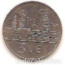 Monedas antiguas de Europa: RUMANIA,3 LEI 1966.. Lote 168300668