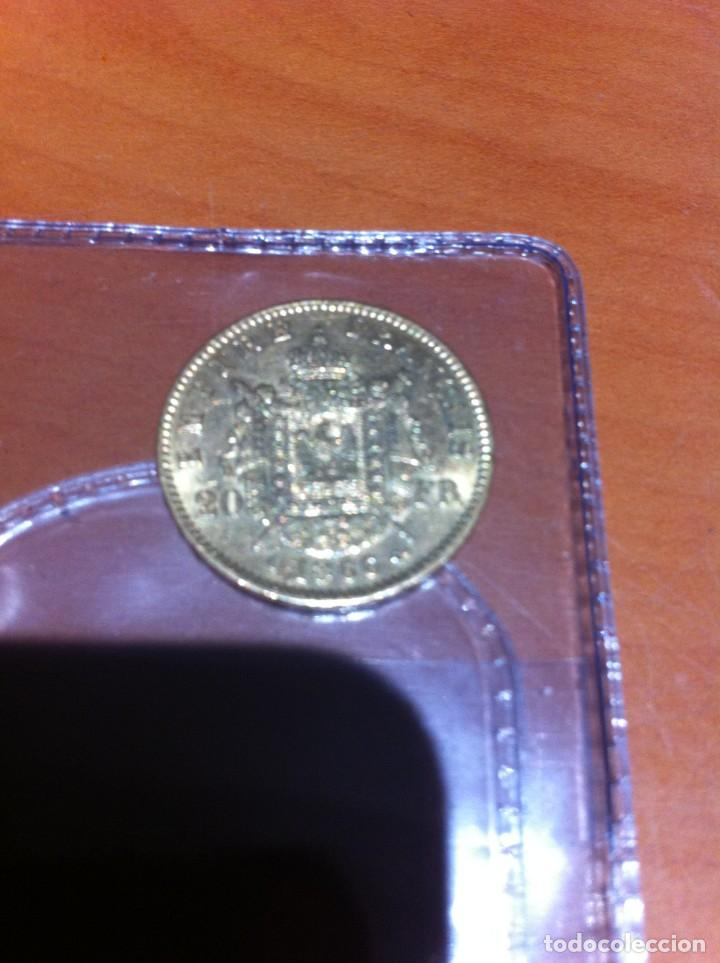 MONEDA DE ORO 20 FRANCOS NAPOLEON III (Numismática - Extranjeras - Europa)