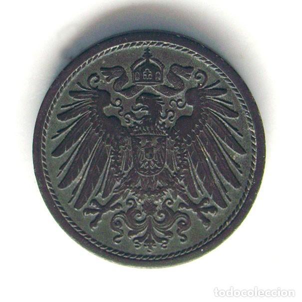MONEDAS DEL MUNDO . ALEMANIA DEMOCRATICA . DDR . 10 PFENNIG . IMPERIO (Numismática - Extranjeras - Europa)