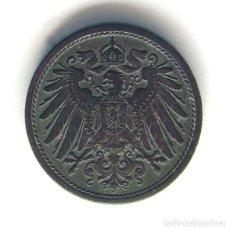 Monedas antiguas de Europa: MONEDAS DEL MUNDO . ALEMANIA DEMOCRATICA . DDR . 10 PFENNIG . IMPERIO. Lote 168607728