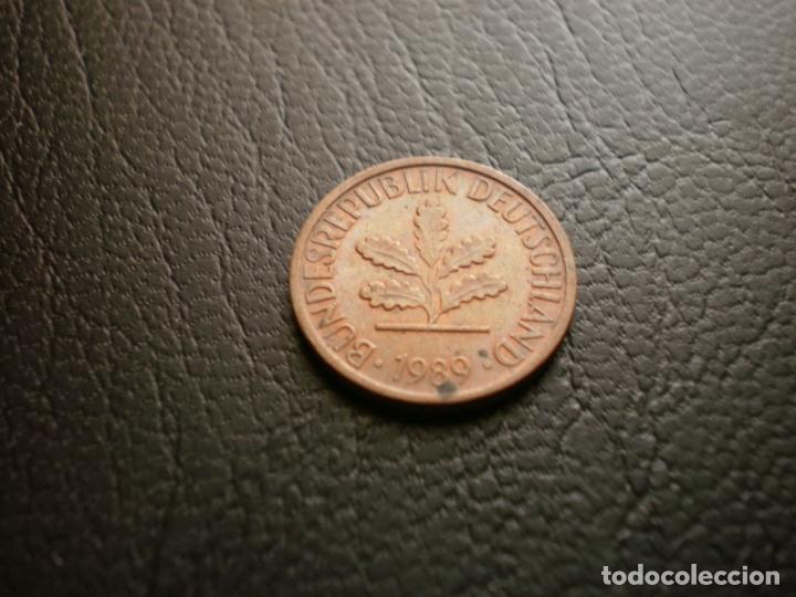 ALEMANIA ( REP. FEDERAL ) 1 PFENNIG 1989 D (Numismática - Extranjeras - Europa)