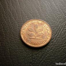 Monedas antiguas de Europa: ALEMANIA ( REP. FEDERAL ) 1 PFENNIG 1990 J. Lote 168629756