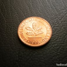 Monedas antiguas de Europa: ALEMANIA ( REP. FEDERAL ) 1 PFENNIG 1996 D. Lote 168630176