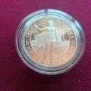 Monedas antiguas de Europa: GIBRALTAR. CROWN. CORONA. 1991. PLATA. PROOF. (XXV OLIMPIADA BARCELONA). Lote 168705088