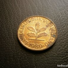 Monedas antiguas de Europa: ALEMANIA ( REP. FEDERAL ) 10 PFENNIG 1989 J. Lote 168858212