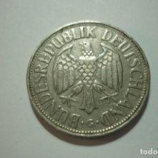 Monedas antiguas de Europa: BUNDESREPUBLIK DEUTSCHLAND. 1 MARK 1954. Lote 168941748