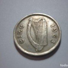 Monedas antiguas de Europa: EIRE 1963 3D. Lote 168942308