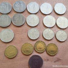Monedas antiguas de Europa: LOTE 19 MONEDAS ITALIA AÑOS 1962-1988. Lote 168994449