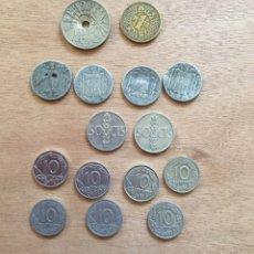 Monedas antiguas de Europa: LOTE 15 MONEDAS ESPAÑA 1937-1966. Lote 168997917