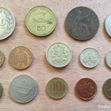Monedas antiguas de Europa: LOTE 14 MONEDAS VARIADAS 1927-1996. Lote 169069260