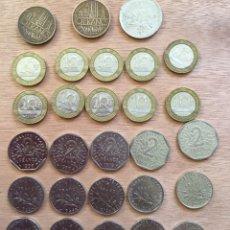 Monedas antiguas de Europa: LOTE 81 MONEDAS FRANCIA AÑOS 1960-1992. Lote 169070562