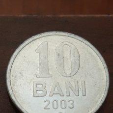 Monedas antiguas de Europa: MOLDAVIA 10 BANI 2003. Lote 169675760