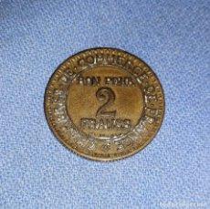 Monedas antiguas de Europa: MONEDA 2 FRANCS COMMERCE INDUSTRIE AÑO 1923 VER FOTOS Y DECRIPCION. Lote 170011196