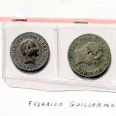 Monedas antiguas de Europa: 3 DE PRUSIA- PLATA Y BELLON. Lote 170157392