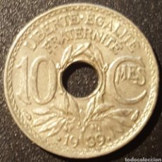 Monedas antiguas de Europa: FRANCIA 10 CENTIMOS 1939 - ENVIO GRATIS A PARTIR DE 35€. Lote 170331024