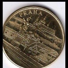 Monedas antiguas de Europa: REPUBLICA CHECA (CHEQUIA) PRAGA PETRIN FUNICULAR MEDALLA DORADA. S/C. Lote 170551224