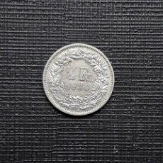 Monedas antiguas de Europa: SUIZA 1/2 FR 1980 KM23A.1. Lote 170725905