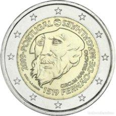 Monedas antiguas de Europa: PORTUGAL 2 EURO 2019 S/C MAGALLANES - 500 AÑOS DE LA CIRCUNNAVEGACIÓN. Lote 232328920
