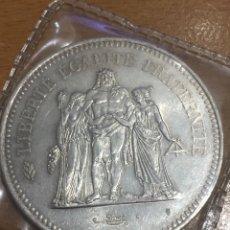 Monedas antiguas de Europa: FRANCIA 50 FRANCOS PLATA 1977 31 GRAMOS. Lote 171016784
