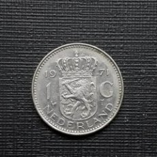 Monedas antiguas de Europa: HOLANDA 1 G (GULDEN) 1971 KM184A . Lote 171066662