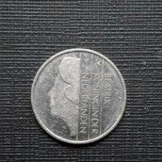 Monedas antiguas de Europa: HOLANDA 1 G (GULDEN) 1987 KM205. Lote 171066882