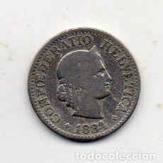 Monedas antiguas de Europa: SUIZA. 10 CÉNTIMOS. AÑO 1884.. Lote 171105939