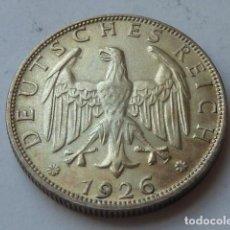 Monedas antiguas de Europa: ESCASA MONEDA DE PLATA DE 2 MARCOS ALEMANIA 1926 WEIMAR, CECA D DE MUNICH, 2 REICHSMARK. Lote 171265527