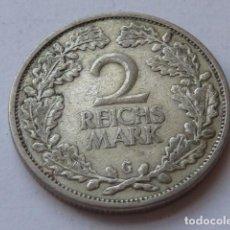 Monedas antiguas de Europa: ESCASA MONEDA DE PLATA DE 2 MARCOS ALEMANIA 1926 WEIMAR, CECA G DE KARLSRUGE, 2 REICHSMARK. Lote 171265860