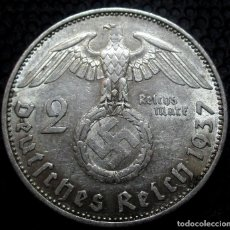 Monedas antiguas de Europa: ALEMANIA - III REICH 2 REICHSMARK 1937-A (BERLIN) REF.2 -PLATA-. Lote 171328724