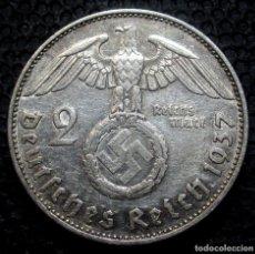 Monedas antiguas de Europa: ALEMANIA - III REICH 2 REICHSMARK 1937-E (DRESDEN) -PLATA-. Lote 171328928
