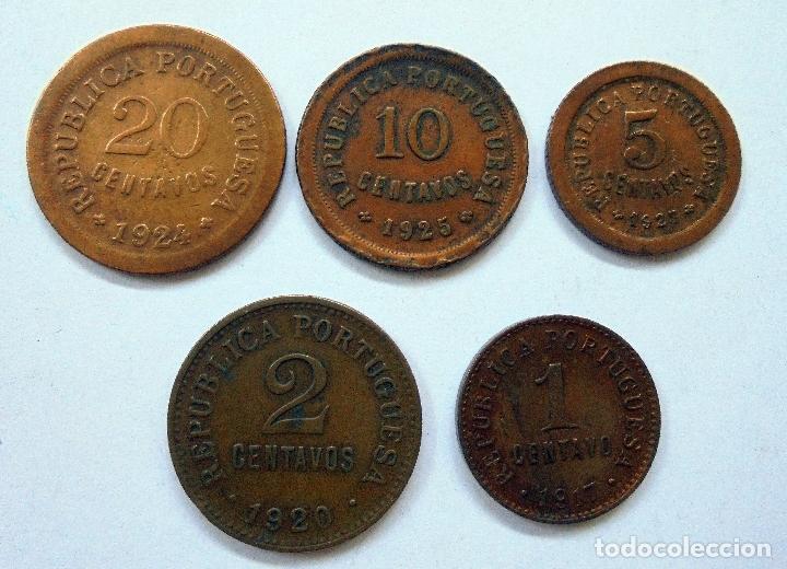 Monedas antiguas de Europa: Portugal. Serie de monedas.KM,s diferentes - Foto 2 - 171508819
