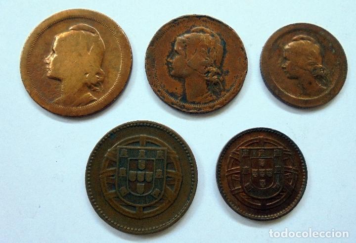 PORTUGAL. SERIE DE MONEDAS.KM,S DIFERENTES (Numismática - Extranjeras - Europa)