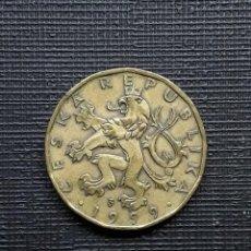 Monedas antiguas de Europa: REP CHECA 20 CORONAS 1999 KM5. Lote 171540614