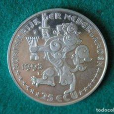 Monedas antiguas de Europa: MONEDA 25 ECU - HOLANDA - 1995 - PLATA 925 - PROOF. Lote 171540818