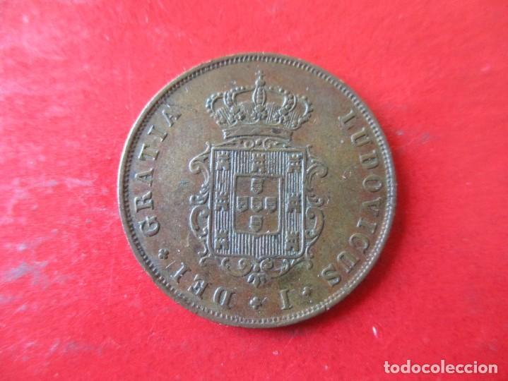 Monedas antiguas de Europa: Portugal. 3 reis de Luis I. 1874 - Foto 2 - 171617072