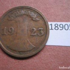 Monedas antiguas de Europa: ALEMANIA 2 RENTENPFENNIG 1923 D. Lote 171627449