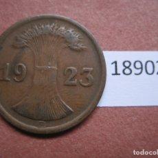 Monedas antiguas de Europa: ALEMANIA 2 RENTENPFENNIG 1923 G. Lote 171627779