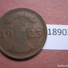 Monedas antiguas de Europa: ALEMANIA 2 RENTENPFENNIG 1923 G. Lote 171627809