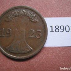 Monedas antiguas de Europa: ALEMANIA 2 RENTENPFENNIG 1923 G. Lote 171627829