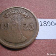 Monedas antiguas de Europa: ALEMANIA 2 RENTENPFENNIG 1923 G. Lote 171627862