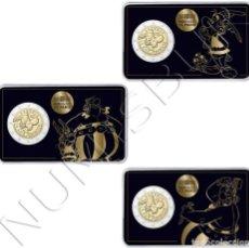 Monedas antiguas de Europa: FRANCIA 2 EUROS 2019 - ASTERIX OBELIX IDEFIX (PACK 3). Lote 171655109