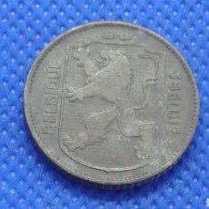 Monedas antiguas de Europa: BÉLGICA 1 FRANCO 1942 OCUPACION ALEMANA II GUERRA MUNDIAL. Lote 171832609